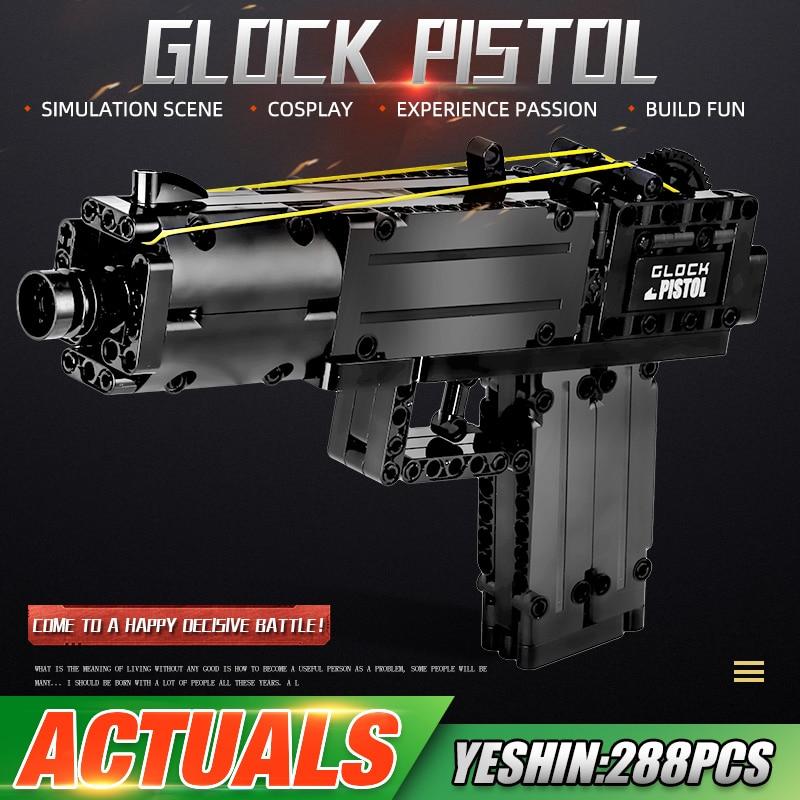 MOULD KING 14008 Glock Automatic Pistol Model