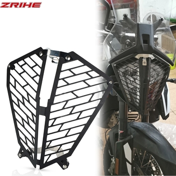 790 adventure Motorcycle CNC Headlight Head Light Guard Protector Cover Protection Grill For ktm 790 adventure R/S 2019-2020