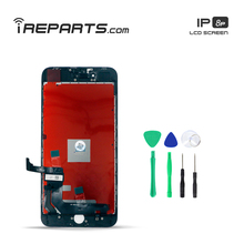 IREPARTS LCD Digitizer Screen Replacement for iPhone 8 Plus Display Assembly Pantalla + Free Tools Gift