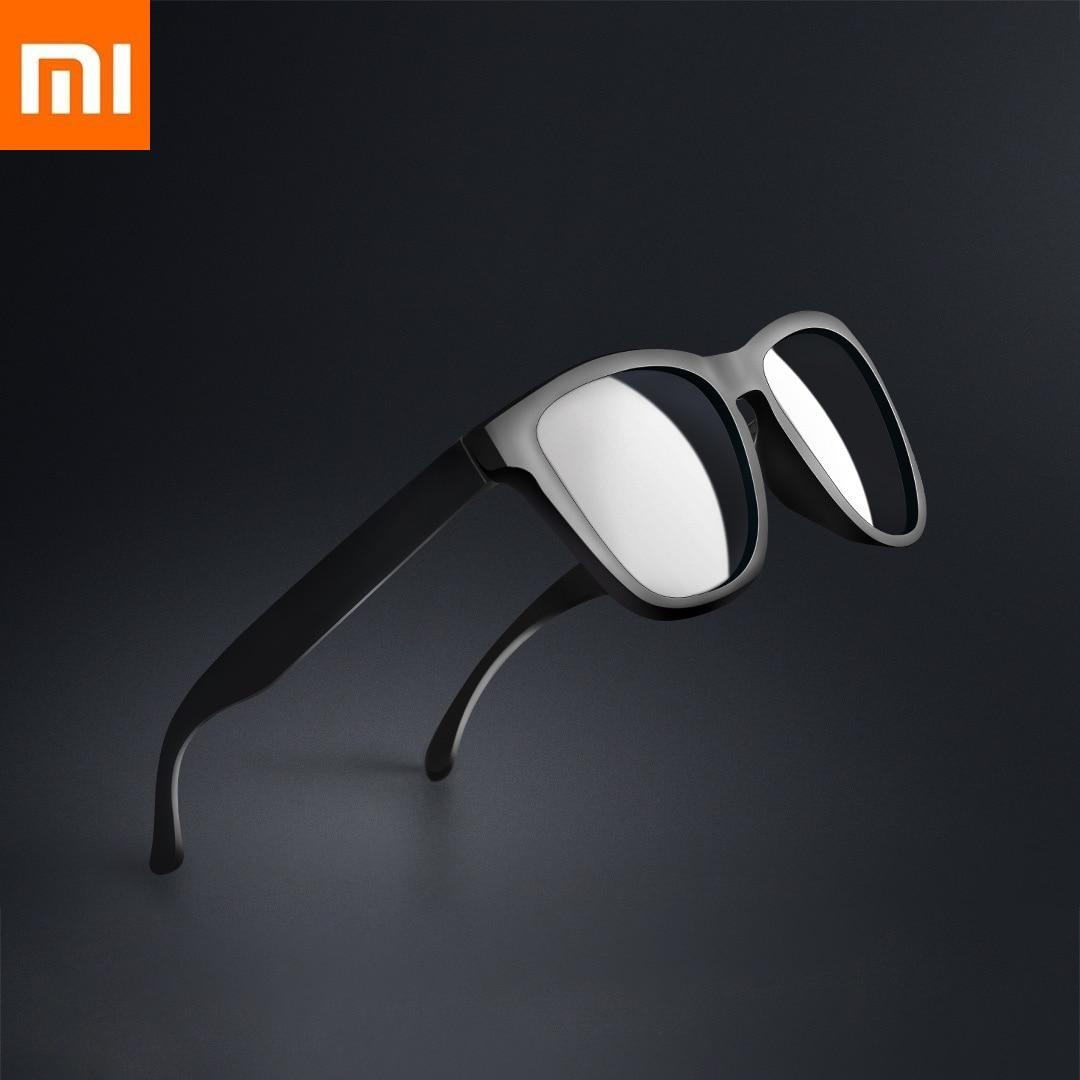 Original Xiaomi Mijia classique bloc lunettes de soleil Tac polarisé lentille auto-réparation légères rayures Xiomi MIJIA pour homme femme cadeau
