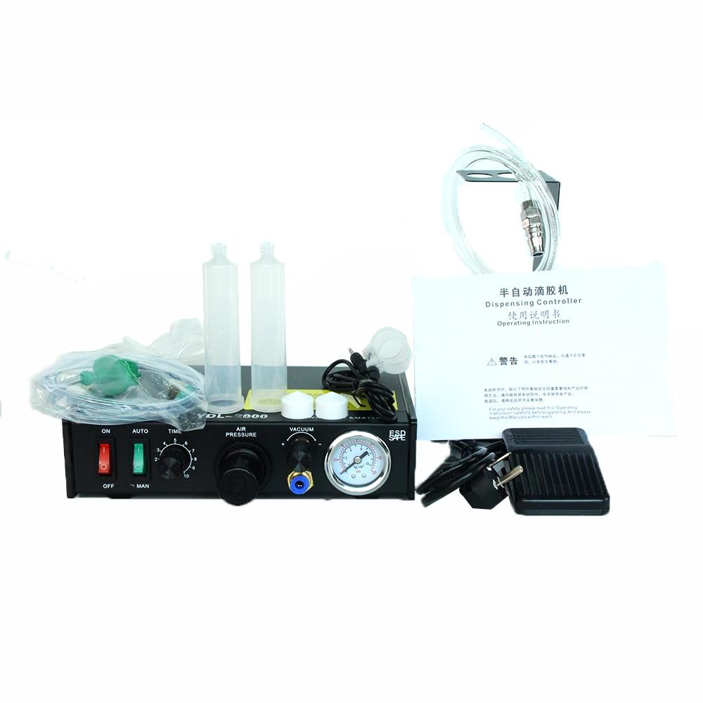 Semi-automatic dispensing machine glue machine glue filling  sealing machine YDL-2000