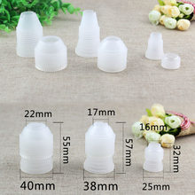 1/5/10 Pcs Creative Thicken Piping Bag Plastic Nozzle Converter Dessert Decorators Adapter Set Baking Tools Cake Decorating Tool(China)