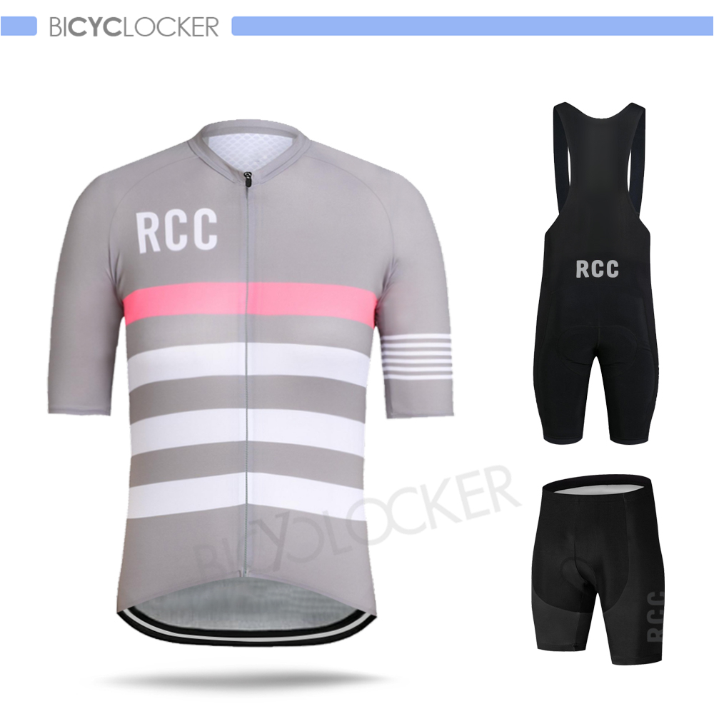 Rcc Cycling Clothes Men Short Sleeve Jersey Set Bike Suits Mtb Team Uniform 2020 Summer Ropa Ciclismo Roupas Ciclistas