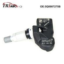 все цены на 5Q0907275B TPMS Sensor 433 Mhz For BENTLEY LAMBORGHINI VW Audi A3 Q7 Q5 A4 A5 Q7 R8 RS4 S4 S6 Tire Pressure Monitoring Sensors онлайн