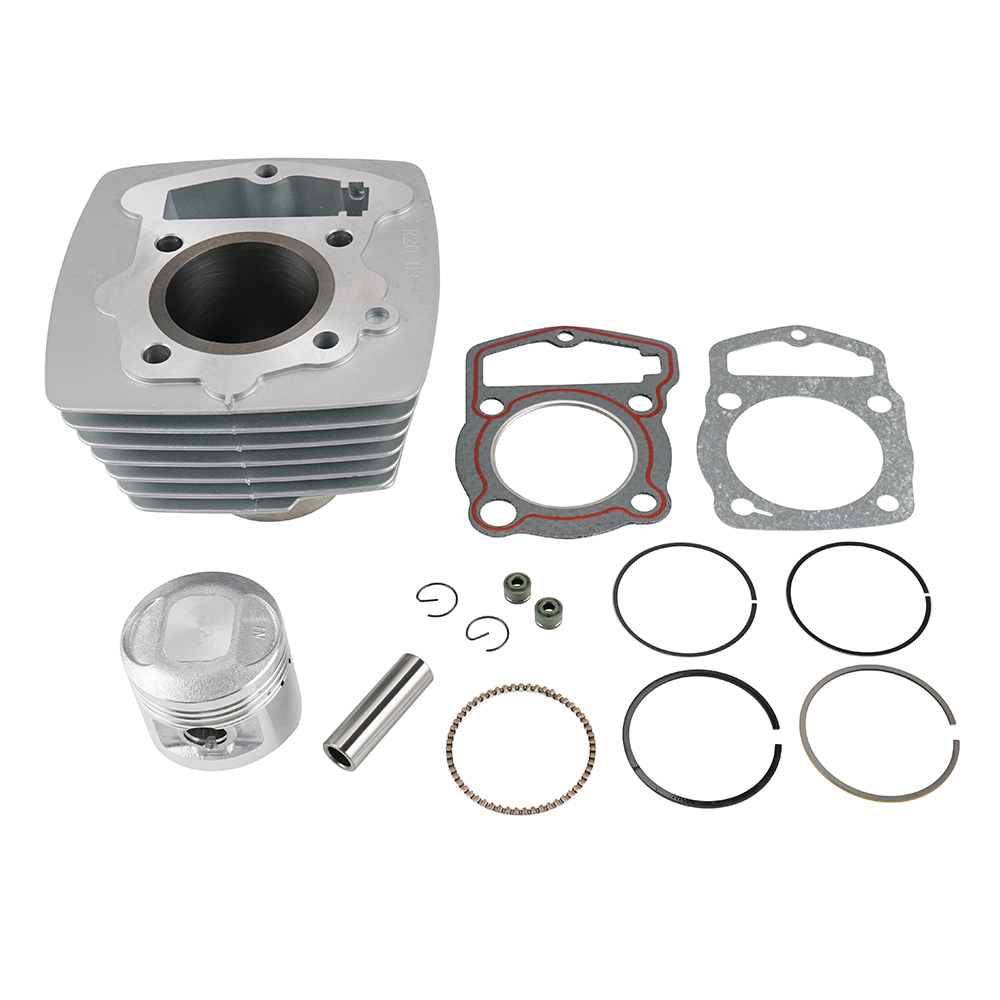 Motorcycle Engine Piston Cylinder Top End Rebuild Kits For Honda CB125S CL125S XL125 SL125 CB CL XL SL 125 125S 76-85 Accessorie