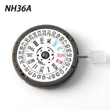 NH35 NH36 движение текущая дата комплект Автоматическая высокоточная механические наручные часы