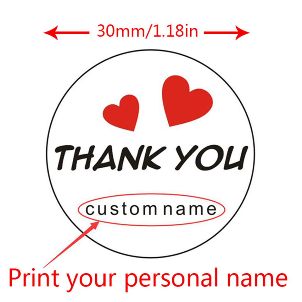HAND MADE PRODUCE PERSONALISED GLOSSY STICKERS mwl001 SEALS LABELS