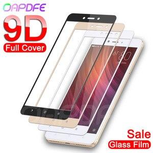 Image 1 - 9D Gehard Glas op de Voor Xiaomi Redmi Note 5 5A 4 4X Pro Redmi 5 Plus 5A S2 4X screen Protector Beschermende Glas Film Case