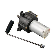 6/12/24V DC Generator Miniature Hand Crank Environmentally Miniature Wind Hydraulic Generator Dynamotor New Motor with Handle free delivery dc generator emergency wind hydraulic generator dynamotor motor standby lighting 5v 24v 20w