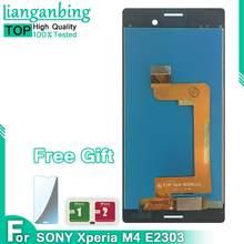 Ensemble écran tactile LCD de remplacement, pour Sony Xperia M4 Aqua E2303 E2306 E2353 E2312, 100%