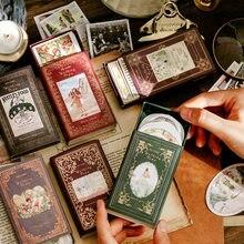 60 pièces/boîte Marche Ville Série Papeterie Décorative Autocollants Scrapbooking BRICOLAGE Journal Album Rétro fée Bâton Étiquette