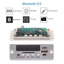 Bluetooth5.0 MP3 Decoder Board Module Wireless Car USB MP3 Player TF Card Slot / USB / FM / Remote Decoding Board Module