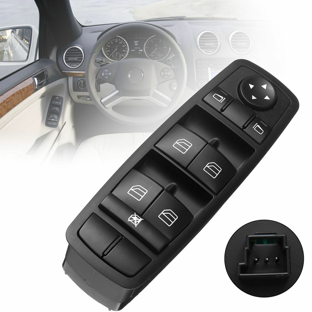 2518300090 Car accessories Power Window Mirror Control Switch Regulator Button <font><b>for</b></font> Mercedes Benz ML63 AMG ML320 ML350 <font><b>ML430</b></font> R350 image