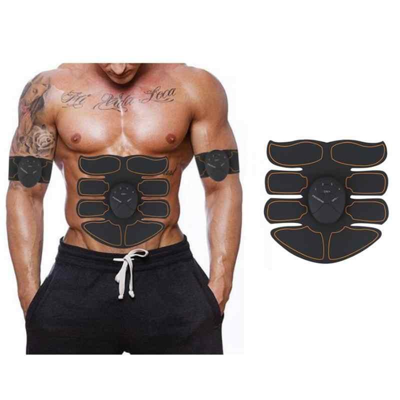Piernas eléctricas Ejercicio de brazos entrenamiento Fitness hogar equipo simuladores masaje prensa entrenador Ejercitador de músculos abdominales vientre