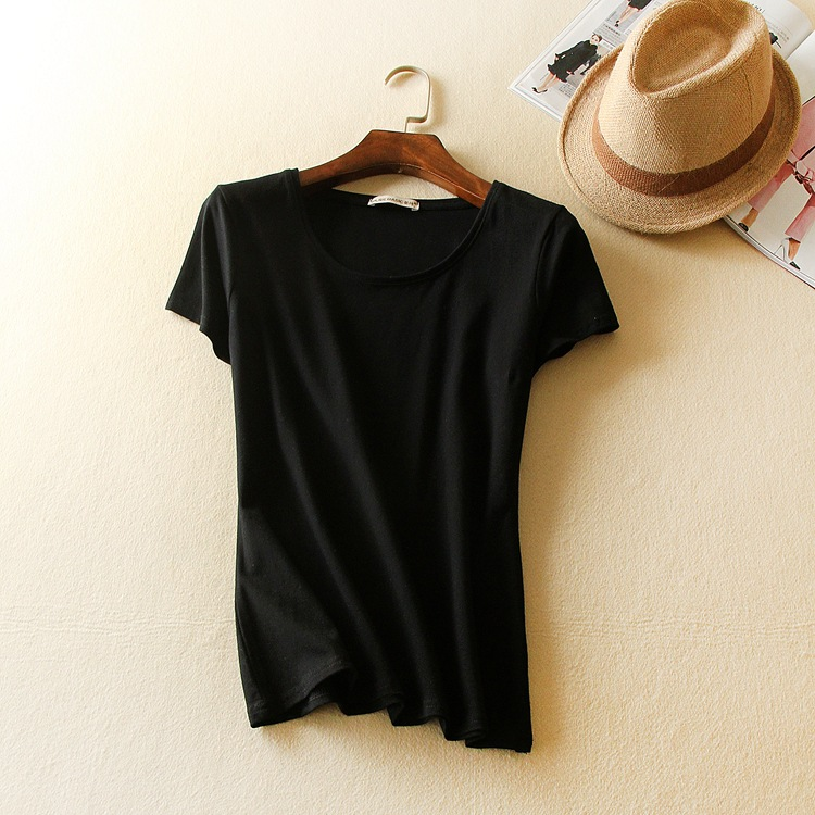 Short Sleeve T-shirt Women Casual Avocado  Graphic Tops Female Tee Summer  Red