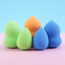 Professional Makeup Sponge Cosmetic Puff For Foundation Concealer Cream Make Up Blender Soft Water Sponge Wholesale p34 latex free water drop makeup blender for concealer foundation bb cream mask bamboo charcoal hydrophilicity sponge