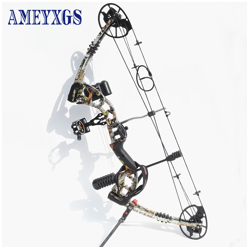 1set Junxing M125 Archery Compound Bow Camo 30 70lbs Adjustable Draw Weight With 6arrows For Crossbow Shooting Hunting Buy Cheap In An Online Store With Delivery Price Comparison Specifications Photos And Customer
