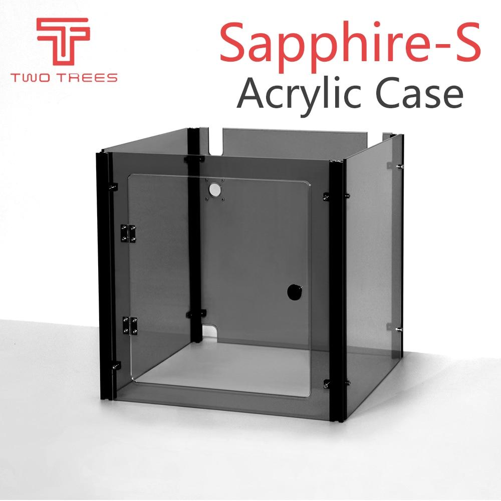 Запчасти для 3D принтера с сапфиром, акриловый чехол, прозрачный черный, прозрачный, синий, акриловый дом, авто, прозрачный, акриловый сапфир S|3D принтеры|   | АлиЭкспресс