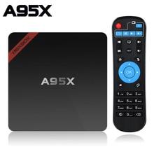 Astuto di Android TV Box 7.1 A95X NEXBOX Amlogic Quad Core S905W 2GB 16GB WIFI Media Player PK x96 Mini Box TV Set Top Box