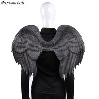 Carnival Party Cosplay Wedding Costume Props Mardi Gras Adult Unisex Angel And Devil Wings Halloween Adult Girl Angel Cosplay