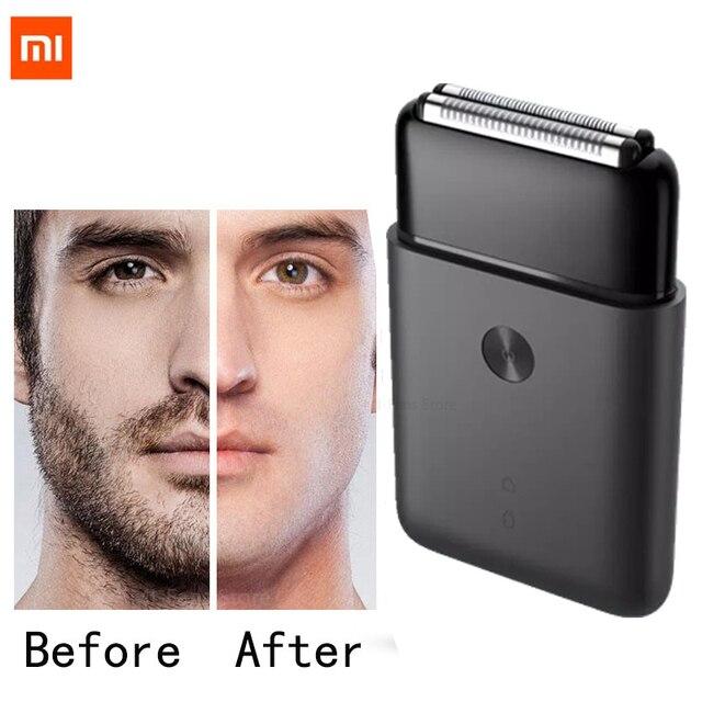 Xiaomi Mijia נייד גברים תער גילוח חשמלי הדדיות 2 סכין ראש IPX7 עמיד למים סוג C טעינה אלחוטי מכונת גילוח