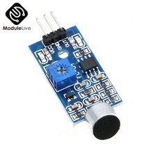 Microphone Sensor High Sensitivity Sound Detecter Voice Switch Detect Module For Arduino 3 Pin 3.3V-5V Digital Ouput Board Tools(China)