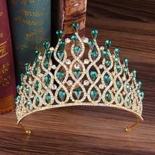 Diadem for Girls Wedding Tiara Hair Headband Bridal Headdresses Princess Crown Bride Jewelry Decoration Accessories