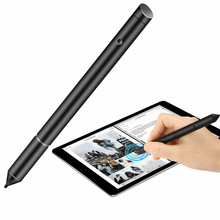 2 In 1 Black Capacitieve Touchscreen Pen Stylus Universele Voor Iphone Ipad Voor Samsung Tablet Telefoon Pc