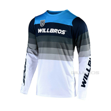 Jersey Motocross T-Shirt Offroad Mountain-Bicycle Mirage-Team Long-Sleeve Willbros Summer