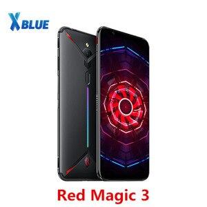 "Image 1 - EU Version Nubia Red Magic 3 Mobile phone 8GB 128GB 6.65"" Snapdragon 855 Fingerprint Front 48.0MP Rear 16.0MP 5000mAh Game Phone"