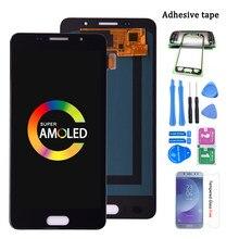 ЖК-дисплей Super AMOLED для SAMSUNG GALAXY A5 2016 Duos A510 A510F A5100, ЖК-дисплей с сенсорным экраном и дигитайзером в сборе
