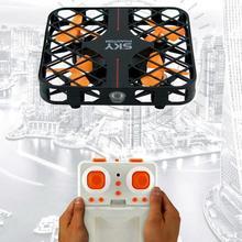 2017 ventas calientes 777-382 cielo Mini cubo Drone 100% Original RC Quadcopter RTF cubierta totalmente protegida rollo 3D interruptor de velocidad luz Led