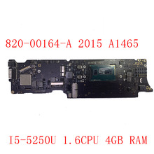 Macbook A1465 for Air 11-Logic-Board I5-5250u/1.6cpu 4GB 820-00164-A-Test/good-Working