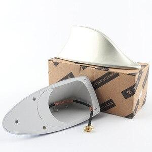 Image 4 - Segnale di Pinna di Squalo auto Antenne Antenna Universale Per Lada Vesta Granta Per Kia Rio Auto Styling Segnale Radio Antenne Tetto antenne