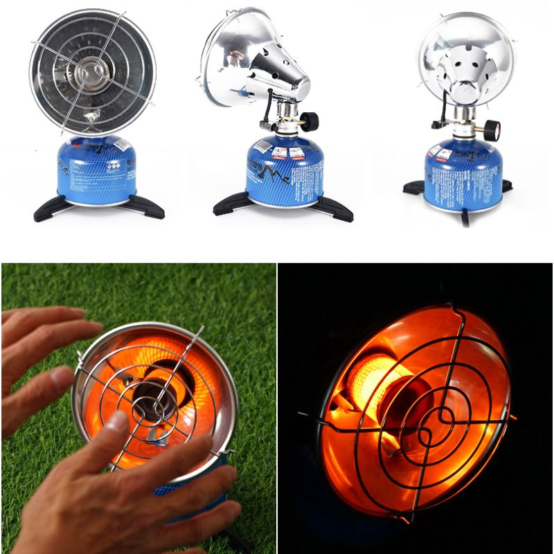 Outdoor Camping Portable Gas Heater Heating Stove Keep Warm Fishing Hunting Propane Butane Tent Heater With Stand