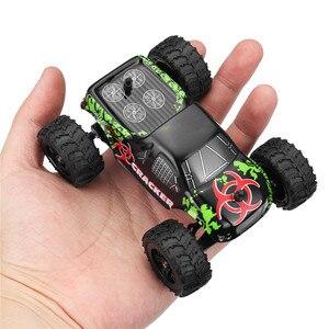 1:32 4CH 2WD 2.4GHz RC Car Mini Machine Radio Controll Car Off-Road Vehicle Model High Speed 20km/h Climbing Car Model Toys