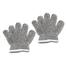 Hot Sale XXS-XL Cut Resistant Gloves Level 5 Protection High Performance Food Grade Safety Cut Proof Gloves for Children Adult