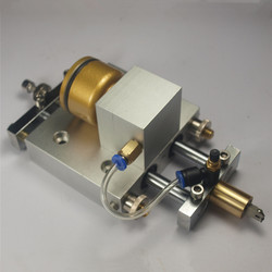 Cnc Onderdelen Automatische Glazen Snijmachine Z-As Router Mes Mes Doos Dubbele Kolom Ronde Hoofd Assemblage