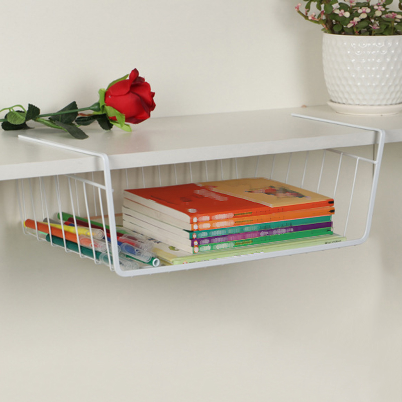 Space saving Storage Rack Shelves Home Wardrobe Kitchen Cabinet Accessory
