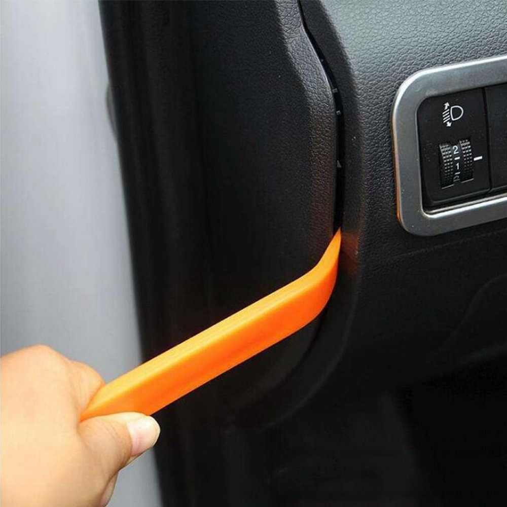 Araba raptiye temizleme aracı Trim Dash sökümcül perçin klipler araba kapı paneli yükleyici kapağı araba Trim temizleme araçları tornavida