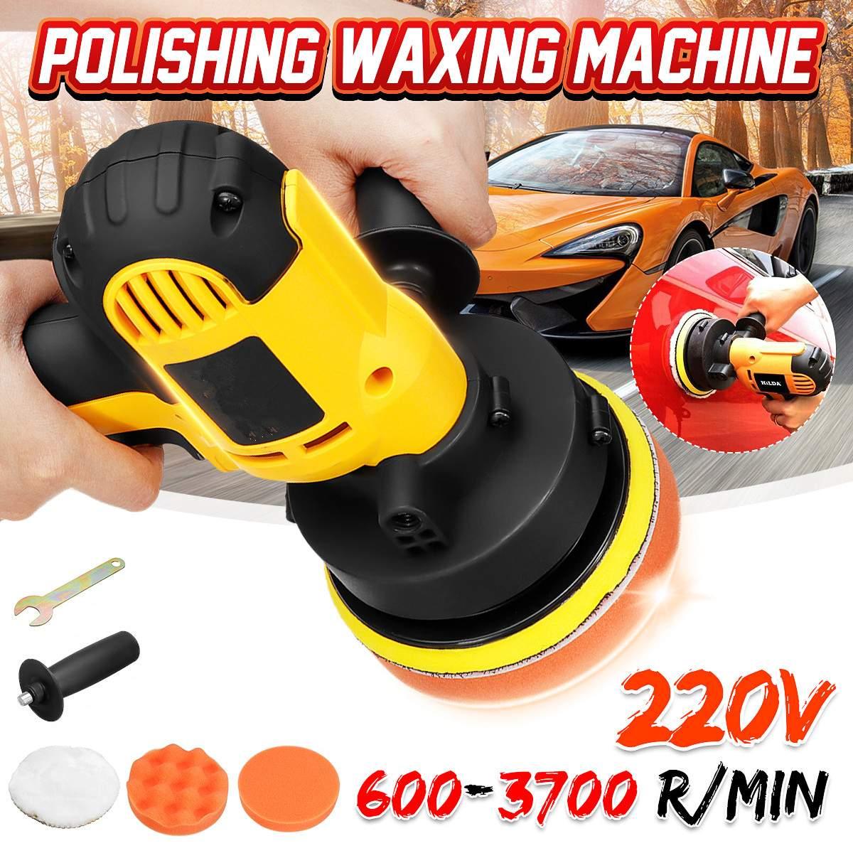 High-precision Low-noise Car Waxing Tool 220V 700W Polishing And Polishing Machine Car Scratch Repair Sealing Glazing Machine