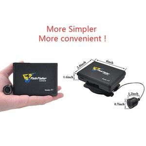 Image 3 - Fisch Finder Unterwasser Angeln Kamera 3,5 Inch Bildschirm 15M Kabel 8PCS Infrarot Lampe Video Kamera Aufnehmen Für Angeln