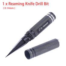 Foret universel professionnel alésage couteau foret outil bord alésoir Forets Pour métal vis robinet perceuse 0-14mm Pour modèle de voiture