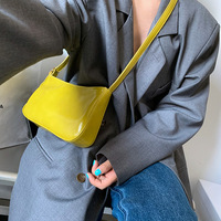 Vintage Leather Baguette Handbags