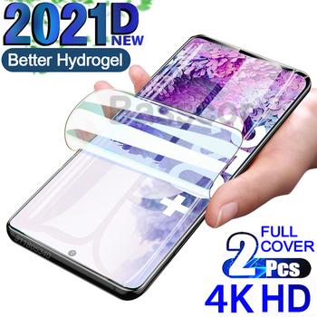 2021D hydrożelowa do Samsung Galaxy A71 A51 A72 A52 A50 A20 S10 S20 S21 uwaga 9 8 10 20 Plus Ultra Lite etui do ekranu telefonu M21 M31 M31S M51 M21 M31 M31S M51 A31 A32 A40 A41 S10E Lite szkło hartowane tanie i dobre opinie Basscor Przezroczysty inny FOLIA HD CN (pochodzenie) Folia na przód transparent Clear For Samsung Galaxy A12 Screen Protector