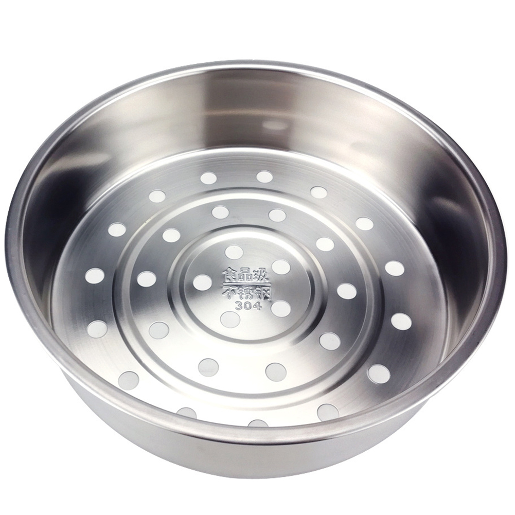 Stainless Steel Restaurant For Cooking Hotel Kitchen Tool Drain Rack Vegetable Fruit Steam Basket Food Tray Home Rice Cooker