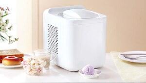 Image 4 - 1L בית אוטומטי מיני קרח קרם מכונה ביתי אינטליגנטי עצמי קר DIY גלידת יצרנית 1L