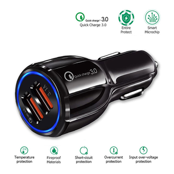Car USB Charger 2 Port USB Fast Car Charger For BMW m3 m5 e46 e39 e36 e90 e60 f30 e30 e34 f10 e53 f20 e87 x3 x5 image