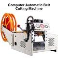 Máquina de corte de corda de fio elétrica da correia elástica máquina de corte quente automática completa de pequena escala