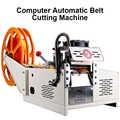 Machine de découpe chaude à petite échelle entièrement automatique corde en Nylon Machine de découpe chaude ceinture élastique Machine de découpe de câble métallique électrique